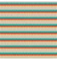 Seamless Striped knitting pattern vector image vector image