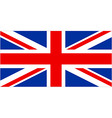 Union jack vector image