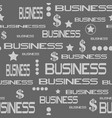 business concept seamless pattern vector image