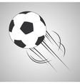 ball of soccer sport design vector image vector image