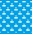 croupier pattern seamless blue vector image