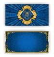 Elegant template for vip luxury invitation vector image vector image