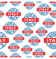 made in italy seamless pattern background icon vector image