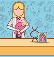 pregnancy fertilization related vector image
