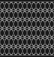 tile black and white pattern or line background vector image