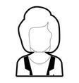 woman avatar design vector image