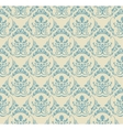 Background vintage Seamless wallpaper floral vector image vector image