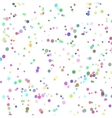 background with many tiny bright pieces vector image