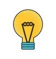 creativity idea bulb knowledge solution concept vector image vector image
