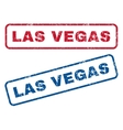 Las Vegas Rubber Stamps vector image vector image