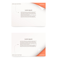 paper card vector image vector image