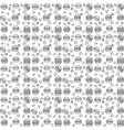 pattern burger line vector image