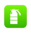 sprayer container icon green vector image vector image