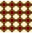vintage pattern wallpaper seamless background vector image vector image
