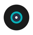vinyl record icon vector image vector image
