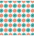 flower seamless pattern natural ornamental texture vector image