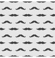 gentleman mustache seamless pattern vector image