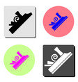 jointer flat icon vector image