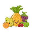 kawaii cartoon character vector image vector image