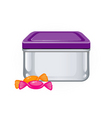 lunch box vector image vector image