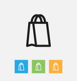 of trade symbol on package vector image vector image