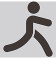 parkour icon vector image vector image