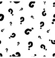 question marks or interrogation pattern vector image vector image