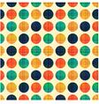 seamless abstract polka dots pattern vector image
