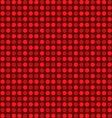 circle polka dots vector image vector image