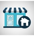 e-commerce store building web page design vector image
