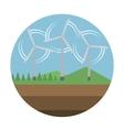 Energy source icon vector image
