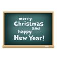 school board christmas vector image vector image