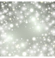 silver winter abstract background shine vector image vector image
