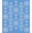 Snowflakes ornament4 vector image