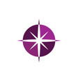 star icon template vector image vector image