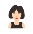 Asian Chinese Woman Flat vector image