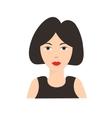 Asian Chinese Woman Flat vector image vector image
