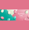 easter sale bright sweet fashion style pop art vector image vector image