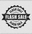 flash sale scratch grunge rubber stamp vector image vector image