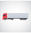 Ftat Truck vector image vector image