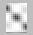 Geometric halftone dot pattern background poster