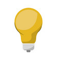 light bulb colorful icon and shading vector image vector image