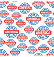 made in america seamless pattern background icon vector image vector image