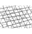 random chaotic lines scattered lines texture vector image vector image