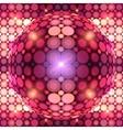 Red shining disco ball