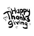 thanksgivingheart vector image