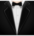 Tuxedo with bow tie vector | Price: 1 Credit (USD $1)