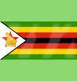 zimbabwe flag vector image