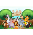 Zoo and animals vector | Price: 3 Credits (USD $3)