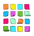 Sticky Notes Collection-01 vector image